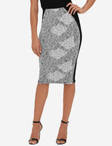 The Limited Eva Longoria Side Panel Power Ponte Pencil Skirt