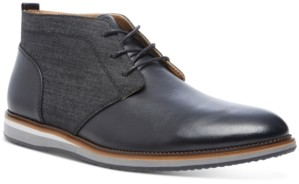 Steve Madden Men's Hinton Mixed-Media Chukka Boots Men's Shoes