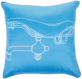 Trussardi Velodromo Bed Cushion - 40x40cm - 005 Bluette