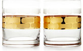 Michael Wainwright Truro Gold Double Old-Fashioneds, Set of 2
