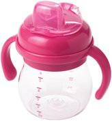 OXO Transitions Soft Spout Sippy Cup w. Removable Handles - Pink - 6 oz
