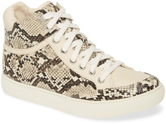 Coconuts by Matisse Pixie Snake Print High Top Sneaker
