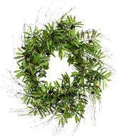 Rogue Artificial Olive Wreath, 76cm
