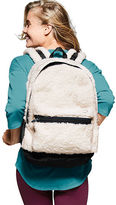 PINK Sherpa Campus Backpack