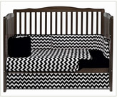 Baby Doll Bedding BabyDoll Bedding Chevron 4 Piece Crib Bedding Set