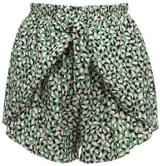 ELSE Monet Vegan Viscose Tie-front Shorts