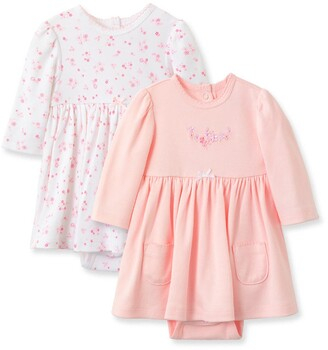 Little Me Love Coverall Dress Set - Pack of 2