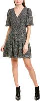 Rebecca Taylor Louisa Silk A-Line Dress