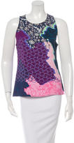Peter Pilotto Sleeveless Abstract Print Top