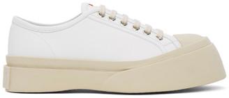 Marni White Nappa Pablo Sneakers