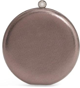 Nordstrom Metallic Round Clutch