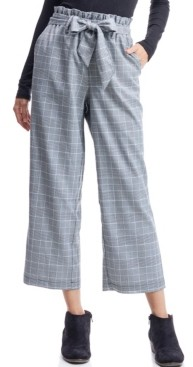 Fever Paper bag Plaid Pant