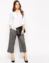 French Connection Serena 3/4 Length Wide Leg Pants