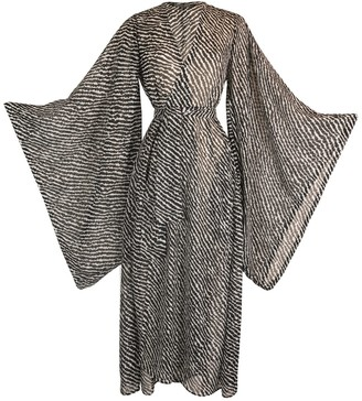 Jennafer Grace Zero Bw Stripe Kimono