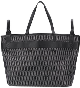 Au Départ Geometric Large Tote Bag