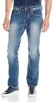 Buffalo David Bitton Men's Evan Slimmer Slim-Fit Jean in Morelia