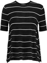 Opening Ceremony Delta Ribbed-Jersey Top