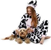 Asstd National Brand Cow Long Sleeve One Piece Pajama
