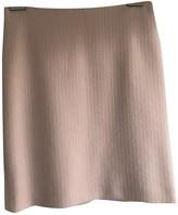 Dolce & Gabbana Pink Wool Skirt for Women