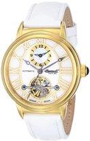 Ingersoll Women's IN5004GWH Baton Rogue Analog Display Chinese Automatic White Watch