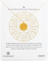 Dogeared New Beginnings Mandala Necklace, 22