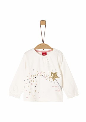 S'Oliver Baby Girls' 65.911.31.7706 Long Sleeve Top