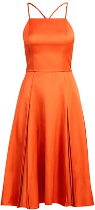 Ralph Lauren Kyrah Silk Fit-&-Flare Dress