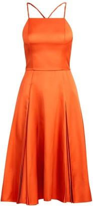 Ralph Lauren Kyrah Silk Fit-&-Flare Dress