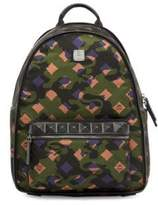 MCM Dieter Munich Lion Camouflage Backpack