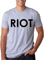 Crazy Dog T-shirts Crazy Dog Tshirts Riot T-Shirt Funny Vintage Style T Shirt Classic Comedy TV Tee
