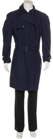 Gucci Double-Breasted Trench Coat