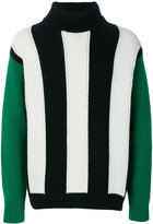 MSGM vertical stripe jumper - men - Polyamide/Wool - S