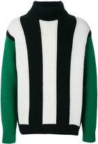 MSGM vertical stripe jumper
