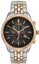 Citizen Eco-Drive Two-Tone Stainless Steel Chronograph