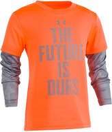 Under Armour Layered-Look Future-Print T-Shirt, Little Boys