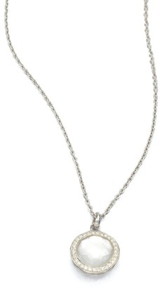 Ippolita Lollipop Small Sterling Silver, Mother-Of-Pearl & Diamond Necklace