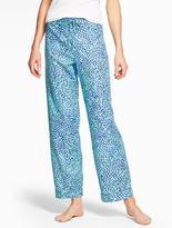 Talbots Swirling Scale Pajama Bottom
