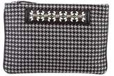 Dannijo Embellished Zip Clutch