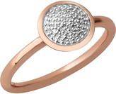 Links of London Diamond Essentials 18ct rose-gold vermeil and diamond ring