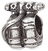 Zable Scuba Tanks Hobbies Professions Sterling Silver Charm