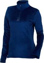 Thumbnail for your product : Spyder Active Sports Women's Standard Shimmer Bug Long Sleeve Half Zip T-Neck Fleece Top