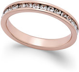 Giani Bernini Cubic Zirconia Pavé Ring in 18k Rose Gold-Plated Sterling Silver, Only at Macy's