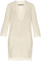 Raquel Allegra Cotton-gauze tunic dress