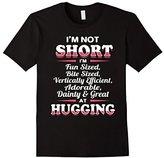 Women's I'M NOT SHORT I'M FUN SIZED...Funny Cute T-Shirt Medium