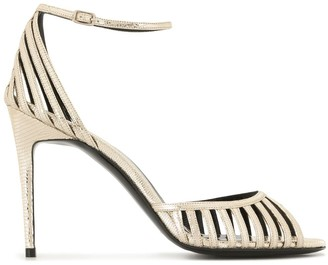 Pierre Hardy Cage stiletto sandals