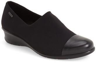 Ecco 'Felicia GTX' Waterproof Wedge Loafer