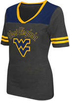 Colosseum Women's West Virginia Mountaineers Twist V-neck T-Shirt
