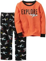 Carter's Boys 2 Pc Fleece 347g172, Print,T