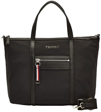 Tommy Hilfiger AW0AW08523_BDS NYLON Zip Around Tote Bag