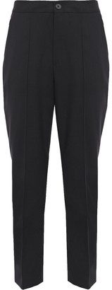 McQ Cropped Wool-twill Slim-leg Pants